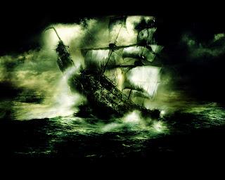 Flying Dutchman Pirate Ship HD Wallpaper