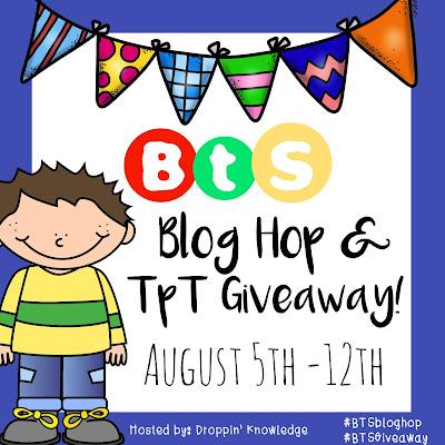 BTS Blog Hop Giveaway