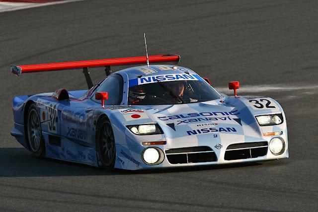 Nissan R390, wyścigowy samochód, sport, racing, wyścigi, japoński