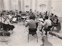 Archive photo of Sir Neville Marriner, with ASMF & Los Romeros (c) Mike Evans