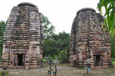 Laxmaneswara ,bharateswara and saatrughneswara Temple, Bhubaneswar