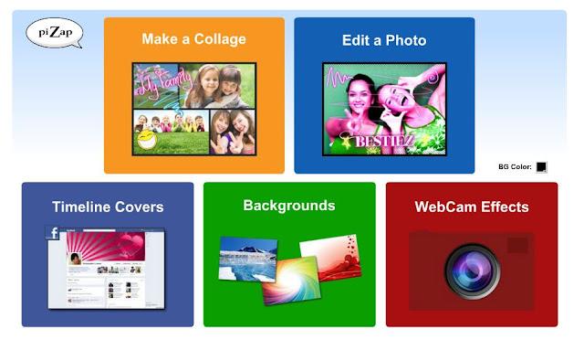 pizap programa para editar fotos online