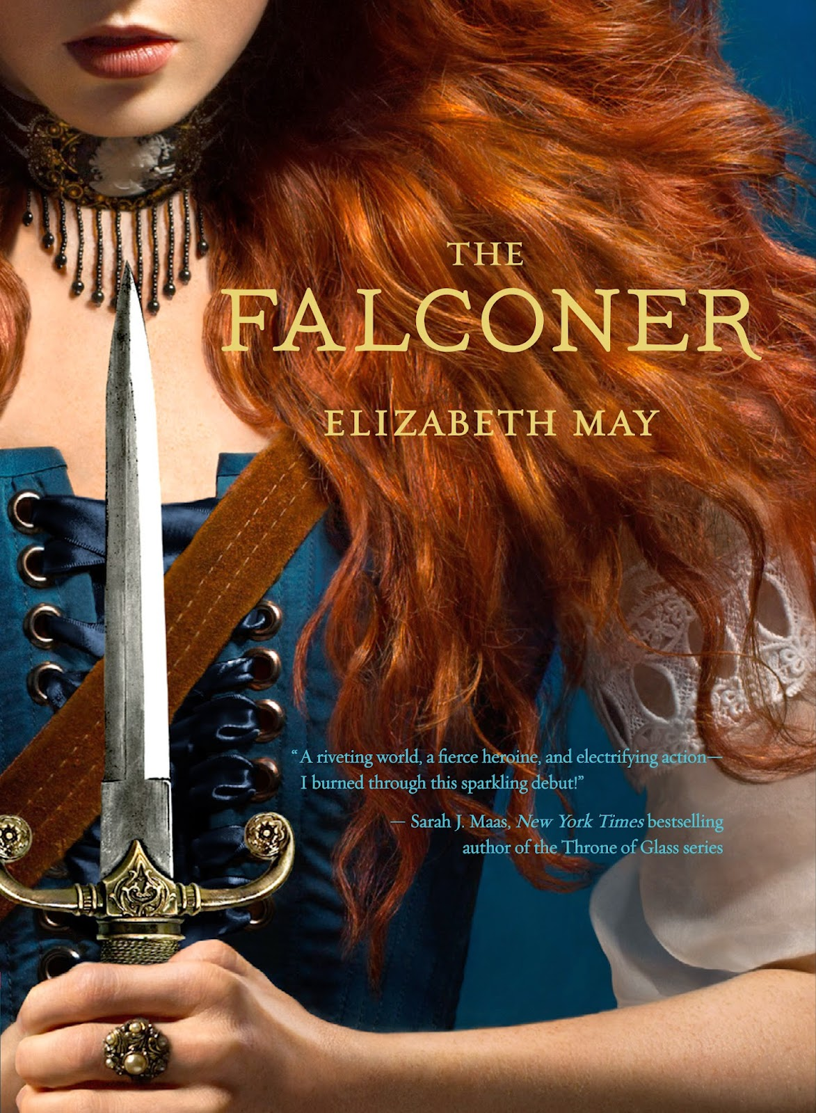 Cover The Falconer by Elizabeth May