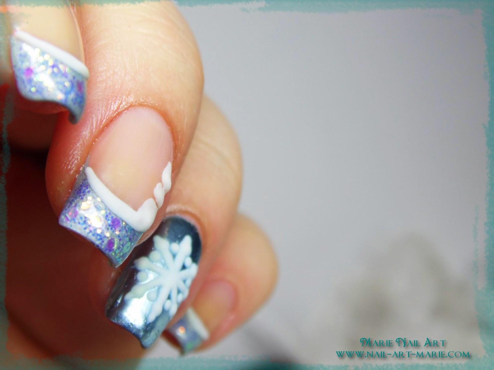 nail art givré nouvel an4