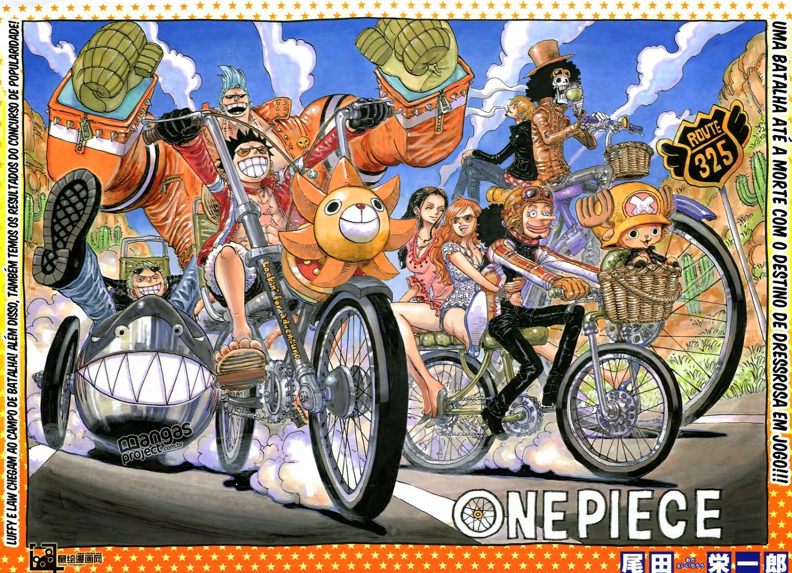 One Piece 775 Mangá Português leitura online