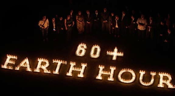 earth hour  images
