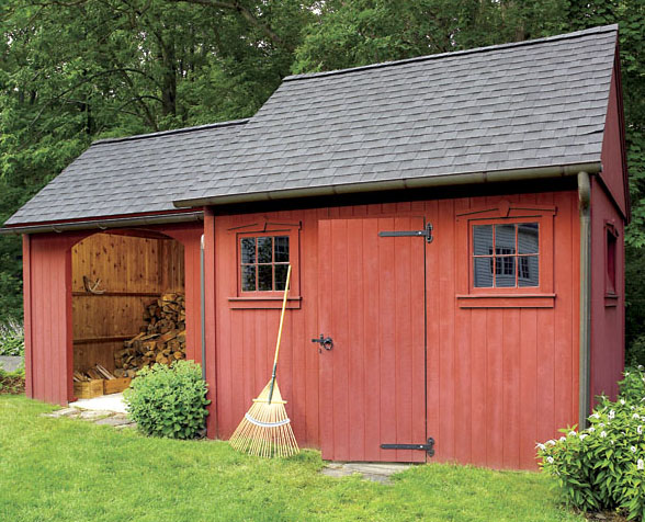 How to build a timber shed - Outside storage shed plans plan ...