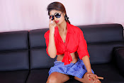 Charulatha Hot Photo shoot in Lungi-thumbnail-14