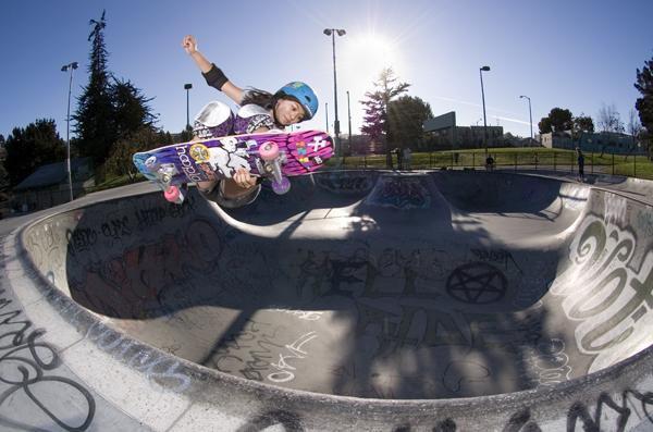 Allysha Bergado, Skater Girl, Potrero De La Sol skatepark