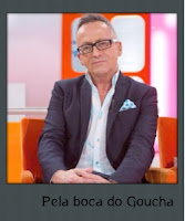 """Pela boca do Goucha"""