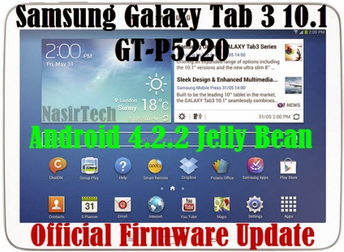 Galaxy Tab 3 10.1 GT-P5220- How to Install | NasirTech | #1 Samsung