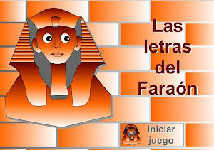 LAS LETRAS DEL FARAÓN-VOCABULARIO