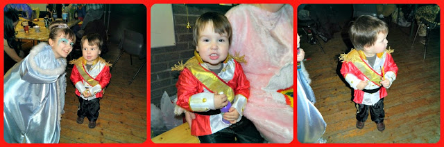 Small boy toddler fancy dress costume outfit prince charming