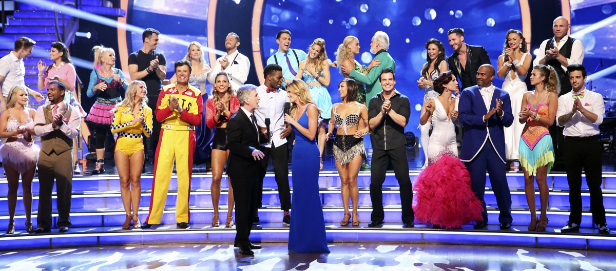 Dancing with the Stars: Week 4 :: Ribbons Down My Back