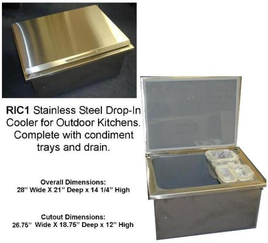Outdoor Kitchen Ric1 New Rcs Brand Stainless Steel Drop