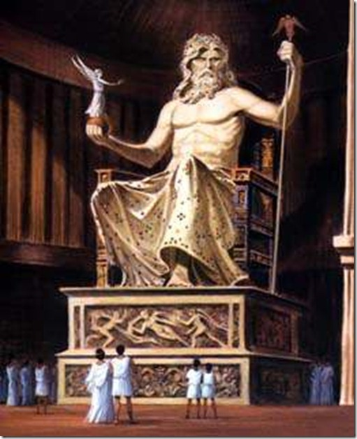 an in depth look at the ancient statue of zeus of the golden stone age of greece The golden age of greece the golden age of greece the ancient statues and birth of zeus, rhea wrapped a stone in swaddling when i look at this statue.