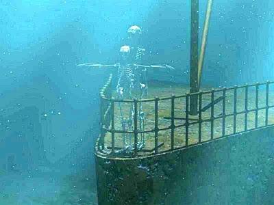 Original Real Titanic Underwater Photos Real Titanic