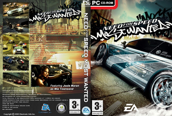need for speed most wanted pc portada