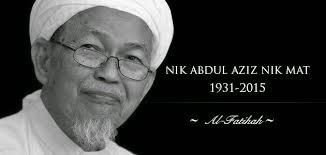 tok guru nik aziz nik mat, meninggal 22 Febuari 2015, malam jumaat