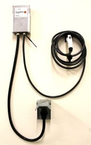 Looking for home charging equipment? Check out the WiFi enabled JuiceBox from eMotor Werks: