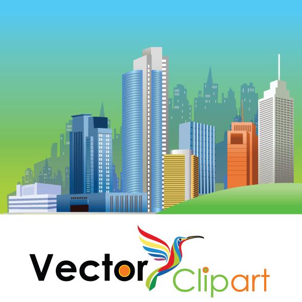 Ciudad espléndida - Vector