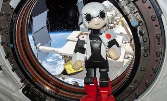 Robot Kirobo Milik Jepang Berbicara di Luar Angkasa