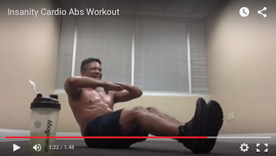 Insanity Cardio Abs Workout - Insanity Challenge Group - Insanity Workout Tampa