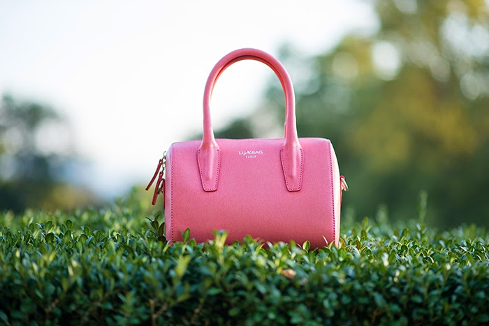 borsa rosa acceso