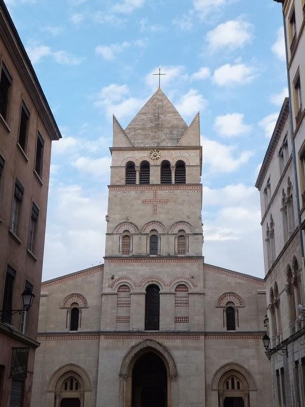 Lyon basilique saint-martin d'ainay