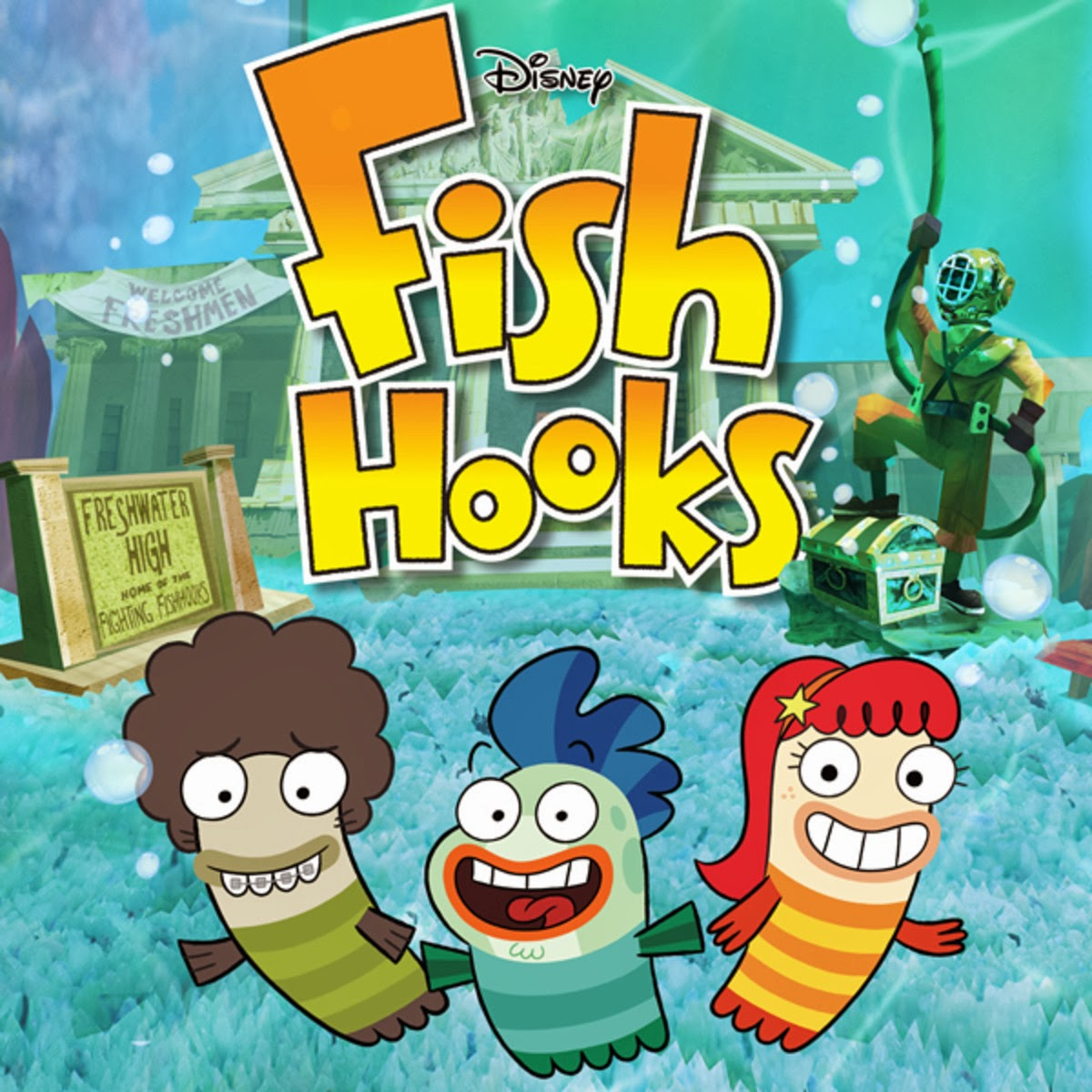 Pecezuelos Fish Hooks Audio  Latino