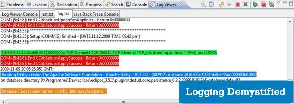 Log file viewer