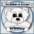 Prijs gewonnen-7 juni- Scribble and Scrap