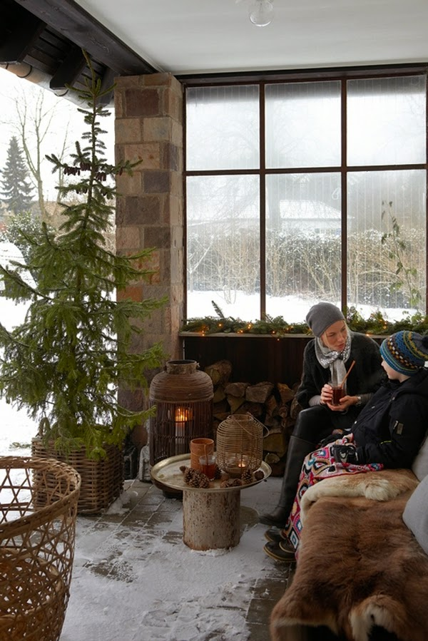 { Nordic Style for Christmas decor! } - shabby&countrylife.blogspot.it