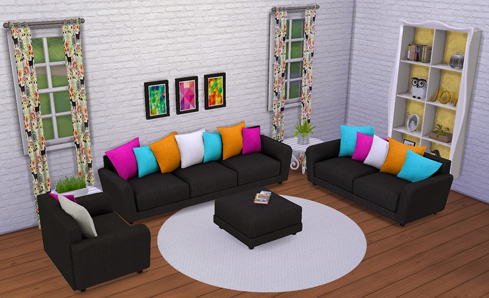 My sims 4 blog 6 recolors of wondymoon 39 s hydrogen living for 3 star living room chair sims