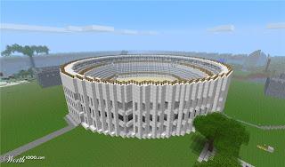 Colosseum style stadium