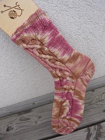 Calendula Cable Socks