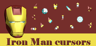 Iron Man cursors