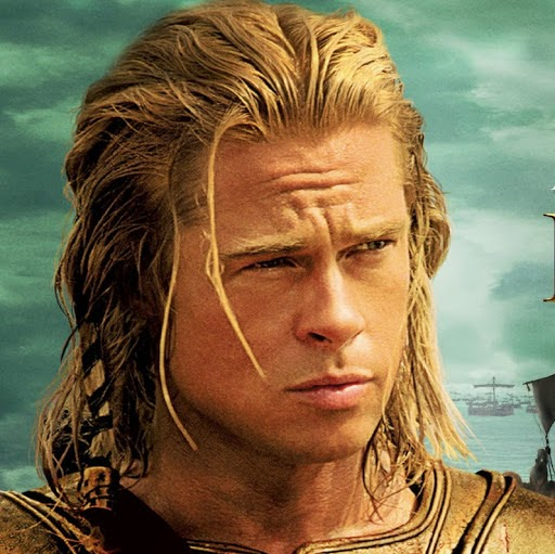 Damon Lord: Damon's Dutch Diary 1 Achilles Brad Pitt Hair