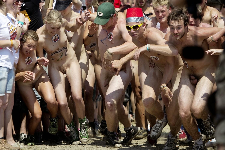 Nudist festival tubes