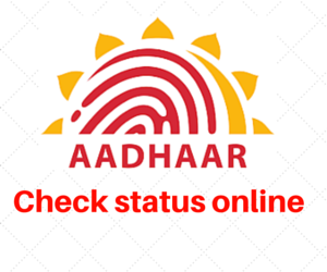 check_aadhar_status_online