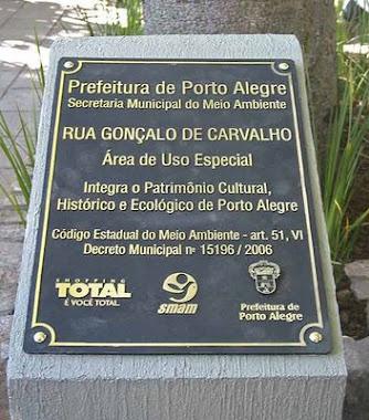 PLACAS DE INAUGURAÇÃO EM ALUMÍNIO FUNDIDO PREFEITURA PORTO ALEGRE-RS
