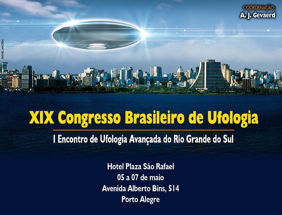 XIX CONGRESSO BRASILEIRO DE UFOLOGIA
