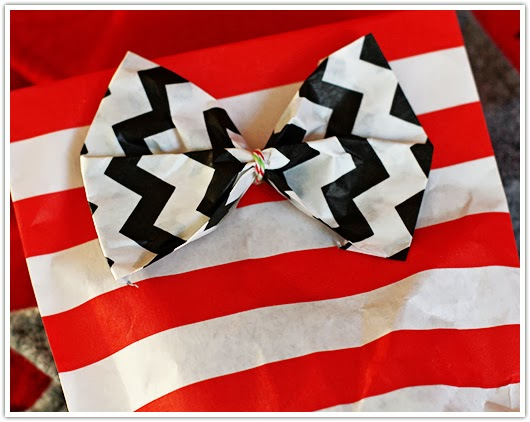 make a bow and attach it