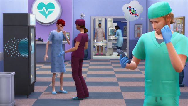 Sims 4 Get to Work Download Photo