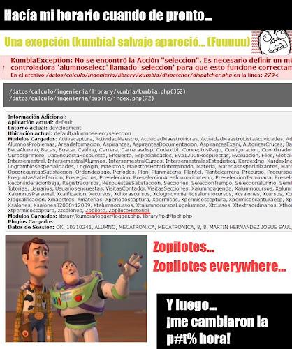 Kumbias y Zopilotes