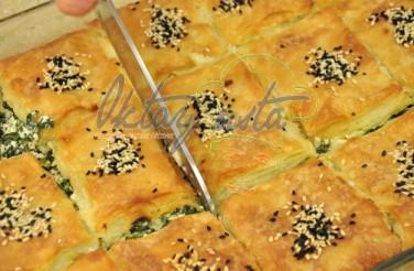 Oktay Usta Milföylü Yufkalı Ispanaklı Börek Tarifi Yeşil Elma