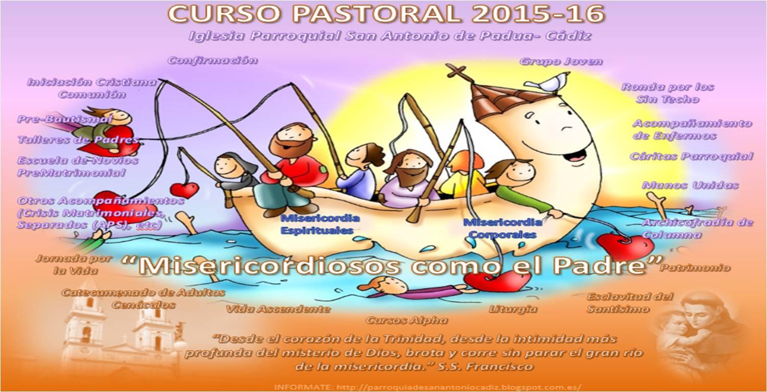 CURSO PASTORAL 2015-16