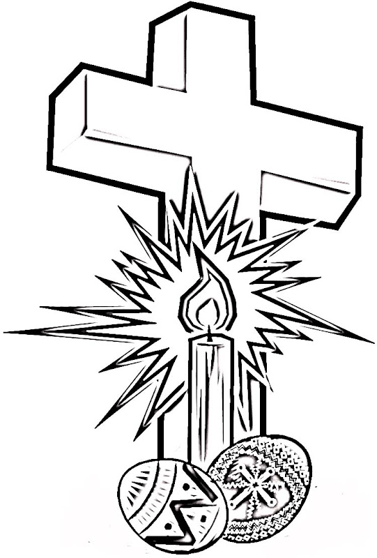 easter cross coloring page - coloring pages of crosses best coloring pages collections