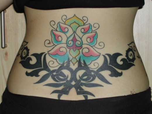 tattoo designs for girls lower back. Free Lower Back Tattoo Designs