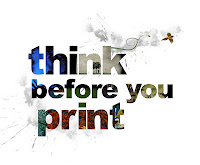 Advice for Indie Authors: Think before you print!